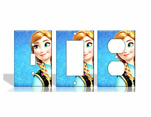Frozen 2 Anna Disney Light Switch Covers Home Decor Outlet Ebay