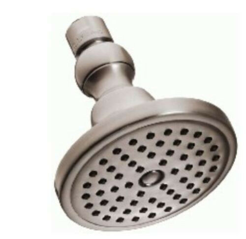 Danze 4-in Showerhead with 60 Flexible Rubber Jets D461651BN Brushed Nickel NEW