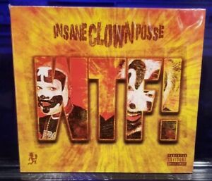 Insane-Clown-Posse-WTF-2018-CD-SEALED-w-t-f-twiztid-psyhcopathic-records-icp