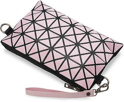 3D Damentasche Clutch - Tasche kleine Schultertasche schwarz