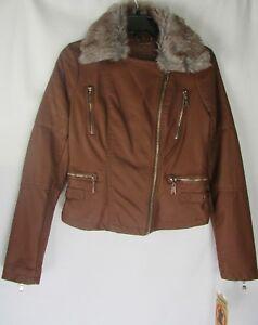 Størrelse Hood Faux Hazel 744199533764 Joujou Leather Jakke W Xs Vegan Juniorer Motorcykel FqTZwz