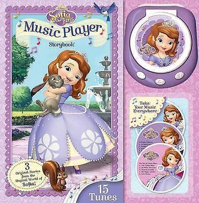"""VERY GOOD"" Disney Sofia the First Music Player Storybook, Disney Junior, Book"