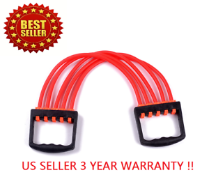CHEST-EXPANDER-ADJUSTABLE-SPRING-EXERCISE-Workout-Removable-Springs-Home-Gym