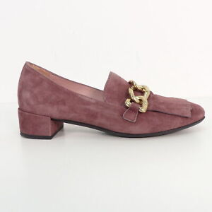 meet 55e1d 059ca Details zu PRETTY LOAFERS Halbschuhe Gr. EUR 35 Violett Damen Schuhe Shoes  Pumps Wildleder