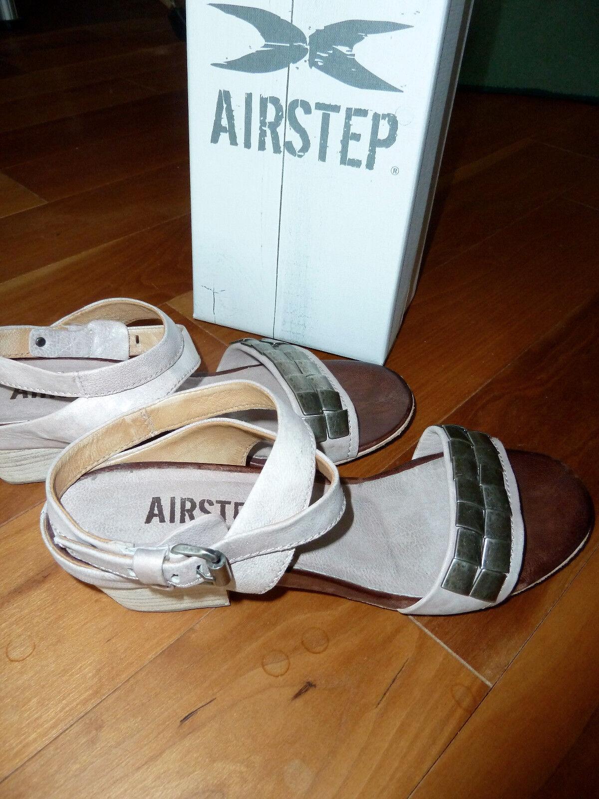 Wie Gr41 NEU Airstep AS 98 Sandalen Sandalette Echtleder Gr41 Wie 42 weiß Art193003 NEU 44cb63