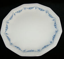 Rosenthal Porzellan Maria weiß Rosenkante blau  Teller flache Schale