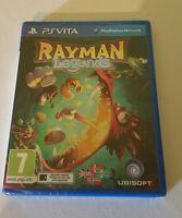 RAYMAN LEGENDS PSV New Sealed UK PAL Game Sony PlayStation Vita PS Vita