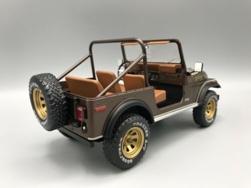 Jeep CJ-7 Golden Eagle metallic-dunkelbraun 1980 1:18 MCG 18109  *NEW**