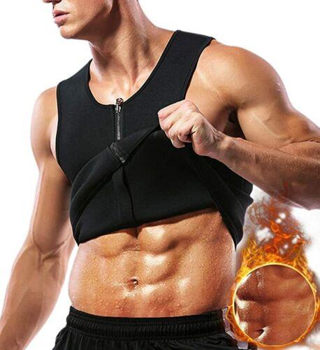 Men Waist Trainer Vest Weight Loss Sauna Sweat Vest Thermal Girdle Body Shaper