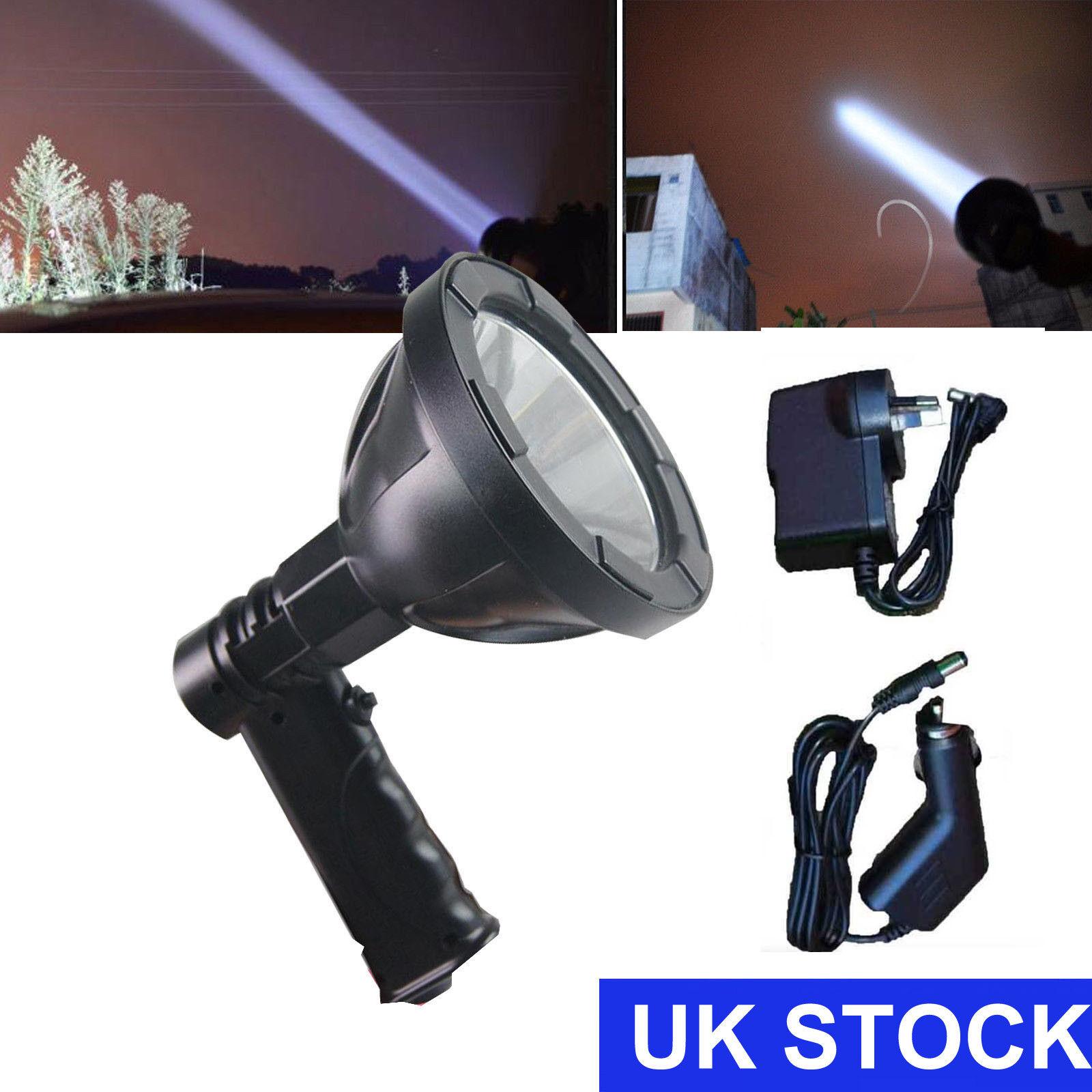 Handheld Hunting Spot Light LED Lamp Sport Colour 2500 Lumens 800m Beam HOT