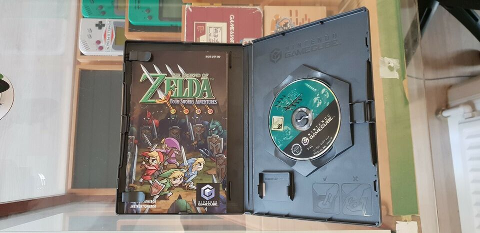 Zelda Four Swords Adventures, Gamecube, rollespil
