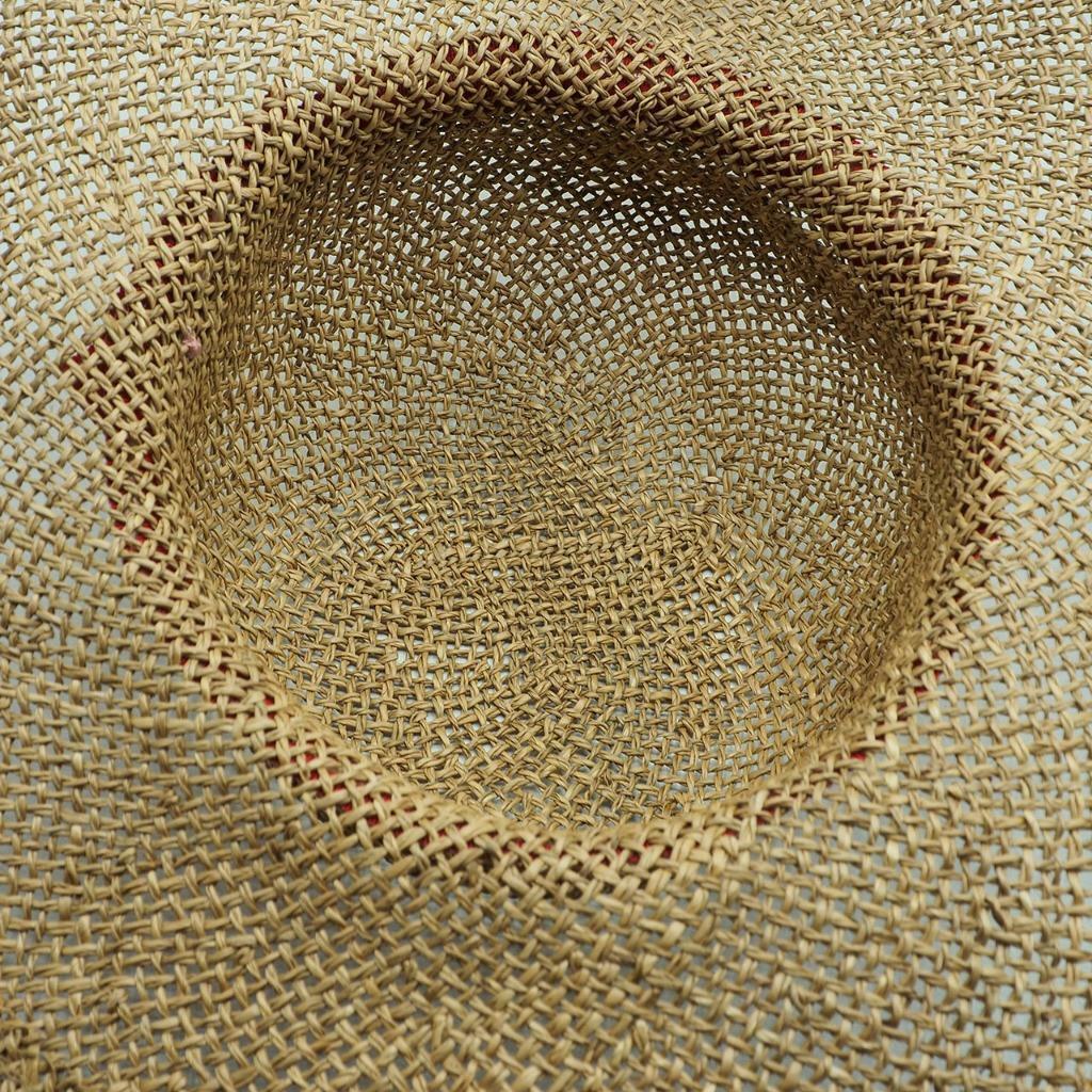 Vintage Summer Straw Hat - image 3