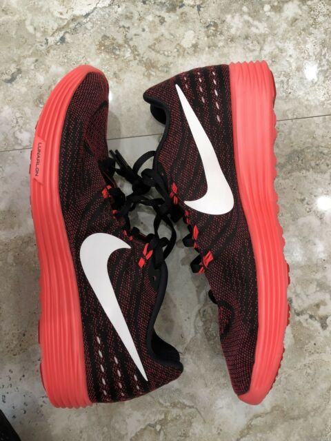 newest fcb14 f95e8 Nike Lunartempo 2 II Red Black Mens Running Shoes SNEAKERS Lunarlon  818097-601 9