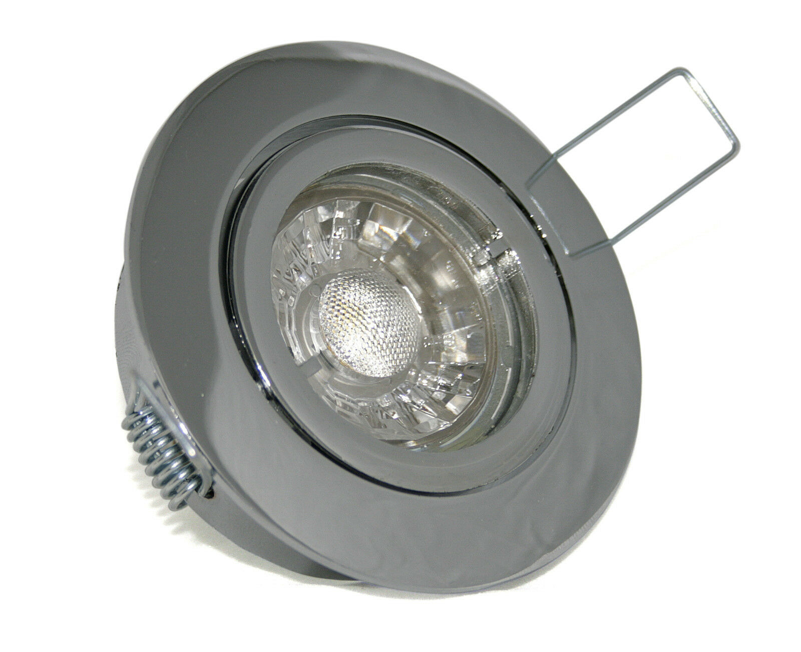 1->10er Sets 7W=70W 7W=70W 7W=70W LED Bad Einbauleuchten Bajo 230Volt Gu10 / IP20 Feuchtraum eedbfd