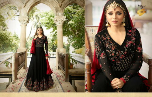 Designer Bollywood party wear Salwar Kameez Indian Anarkali Salwar Suit RD