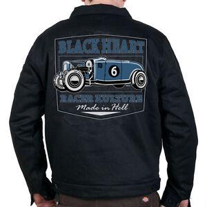 Mens-rockabilly-biker-greaser-psychobilly-Black-Heart-Roadster-Jacket