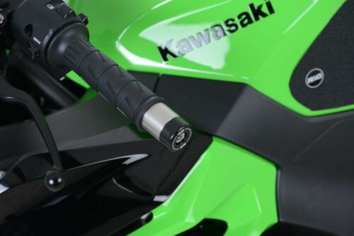 R/&G RACING ONE PAIR BAR END SLIDERS  Kawasaki ZX6-R 2008 - P8F