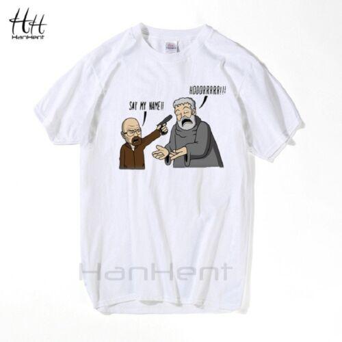 Breaking Bad Game of Thrones T Shirts Men Hodor Heisenberg Casual Man Cotton T