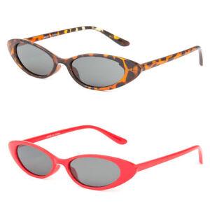 9069367fa3b53 Small Cat Eye Fashion Women Sunglasses Flat Top Retro Vintage Shade ...