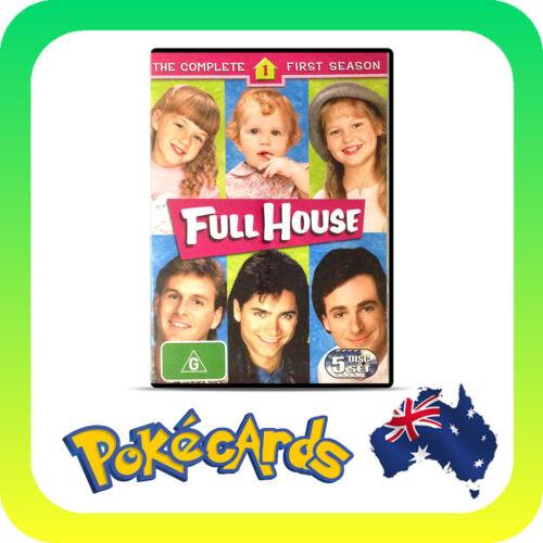 1 of 1 - Full House : Season 1 (DVD, 2005, 5-Disc Set) - FREE POSTAGE!