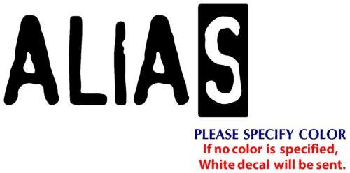 "Alias Game Gamer JDM TV Funny Vinyl Sticker Decal Car Window Bumper Wall 8/"""
