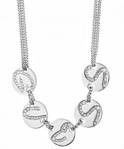 Guess Necklace silver colored