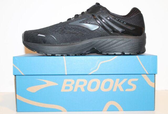fd0e77ada3d Mens Brooks Adrenaline GTS 18 Support Running Shoes Black Extra Wide 4E  Width