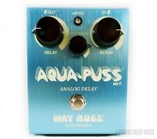 New! Way Huge Aqua Puss Analog Delay Pedal WHE701 - Free US 48 Shipping!
