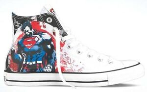 ae35e24c0aa9 NEW CONVERSE ALL STAR DC COMICS SUPERHERO BATMAN SUPERMAN CHUCK ...