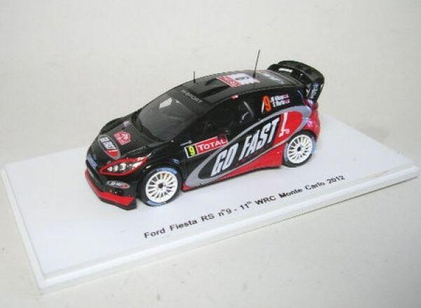 Ford fista rs wrc no. 9 11th rally monte monte monte carlo 2012 a73b4f