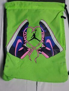 Image is loading Nike-Air-Jordan-Jumpman-Jumpman-Gym-Sack-Sling- 9f63d7f985c1c