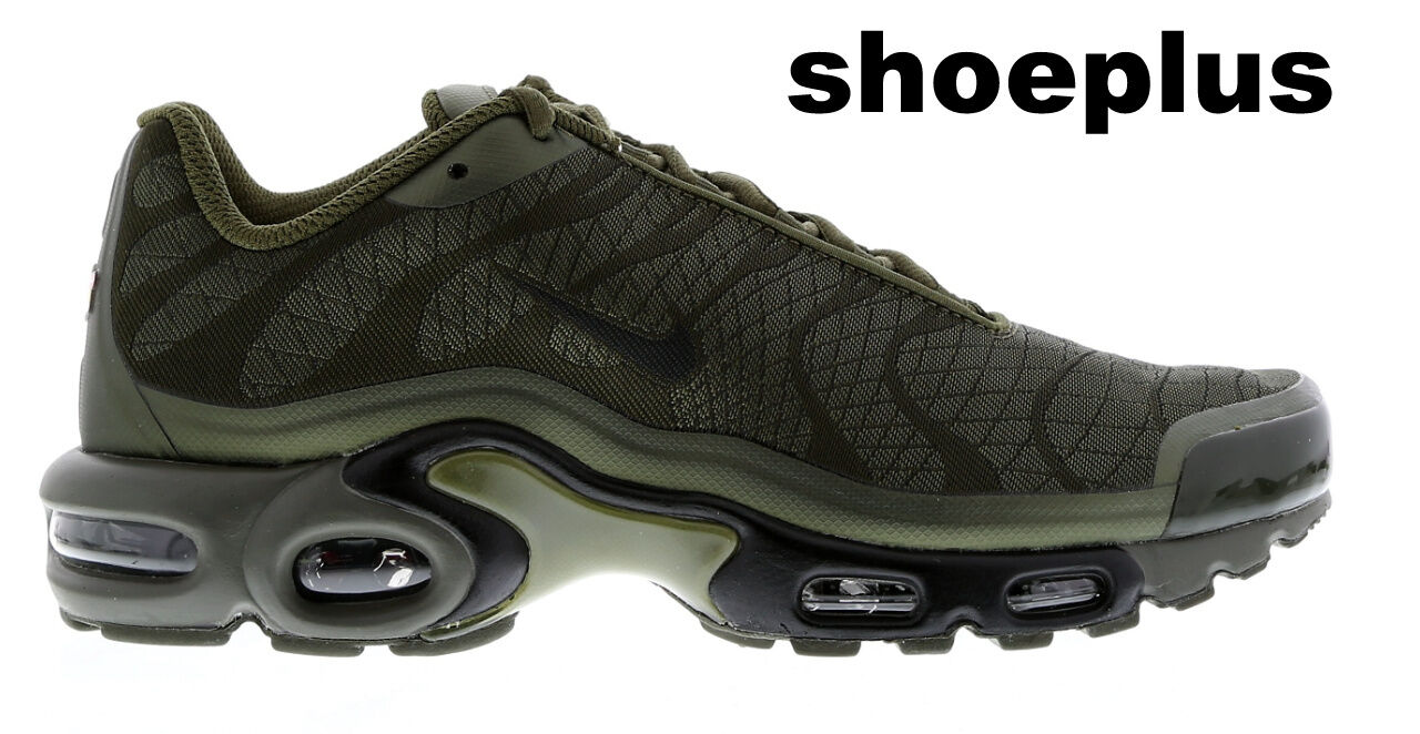 Nike Air Max Plus Tuned 1 Tn Jacquard  Olive Green   Men Trainer Limited Edition