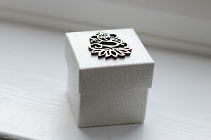 White Square Indian Wedding Favours Gift Box Sanji Reception