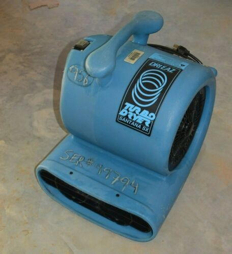 Dri-Eaz TurboDryer Santana SX 2-Speed professional Floor Dryer Fan Blower
