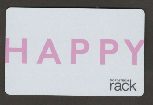 Nordstrom no value collectible gift card mint #24 Happy