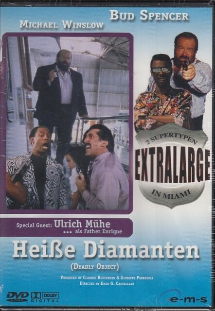 Extralarge 09 - Heiße Diamanten - Bud Spencer   DVD/NEU/OVP