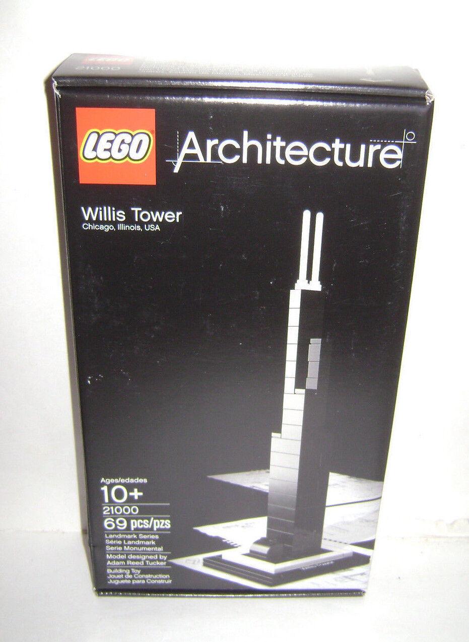 Nuevo edificio lego 21.000 cajas de juguetes del edificio Willis.