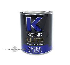 K Bond Elite Solid Clear 1 Quart Granite Marble Stone Hybrid Acrylic Glue