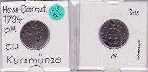 1 Pfennig Kupfer Münze Hessen-darnstadt 1784 121633 Attraktiv Und Langlebig