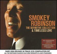Smokey Robinson Very Best Greatest Hits Collection 2CD Set Motown Soul Jazz Pop