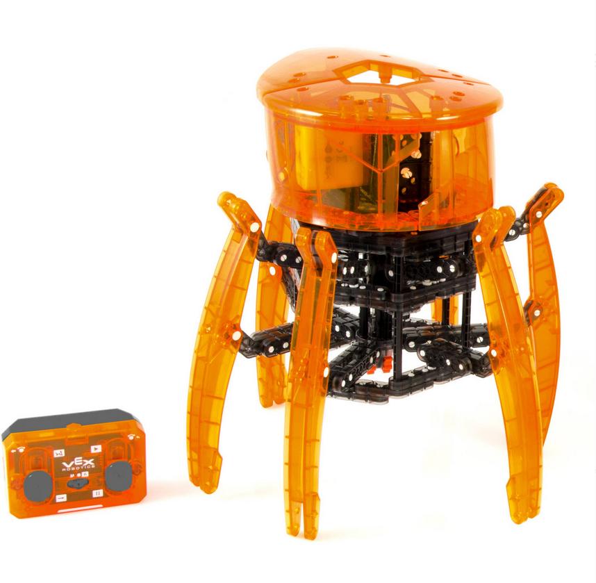 Neue hexbug plagen robotik spider - bausatz stammzellen bildungs - starter - nib