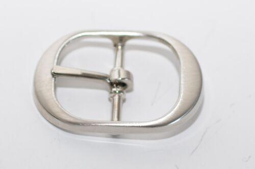 Gold oder Silber Hochwertige Gürtelschnalle von Waterbury für ca 25 mm Breite
