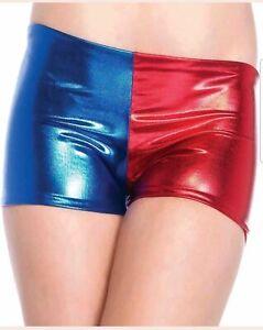 Women-Hot-Pants-Cosplay-Costume-Harley-Quinn-Suicide-Squad-Halloween-Fancy
