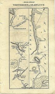 Antique-map-Whitehorn-to-Glenluce