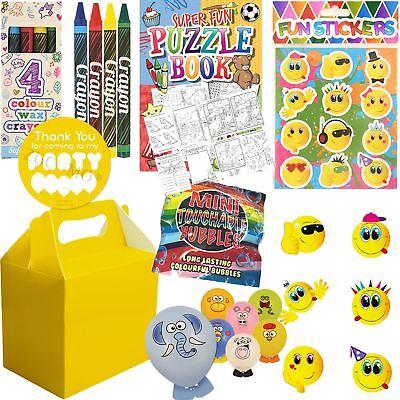 Frugale Bambini Pre Riempiti Per Bambini Unisex Party Bags Yellow Box Compleanno Nozze Favori- Forte Resistenza Al Calore E All'Usura Dura