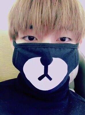 KPOP EXO CHANYEOL BTS Bangtan Boys V Cute Bear Mouse Mask Masks