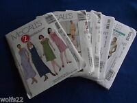 A Mccall's All Patterns Are Size 6-12 (6,8,10,12) U-pick 21+ Listed 5807