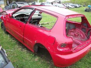 1993 honda hatchback parts