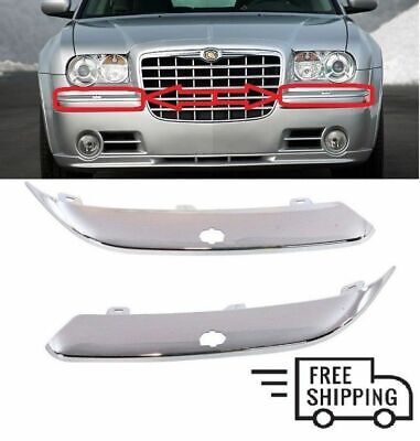 Passenger Side Bumper Trim For Chrysler Chrysler 300 2005-2010 New Front
