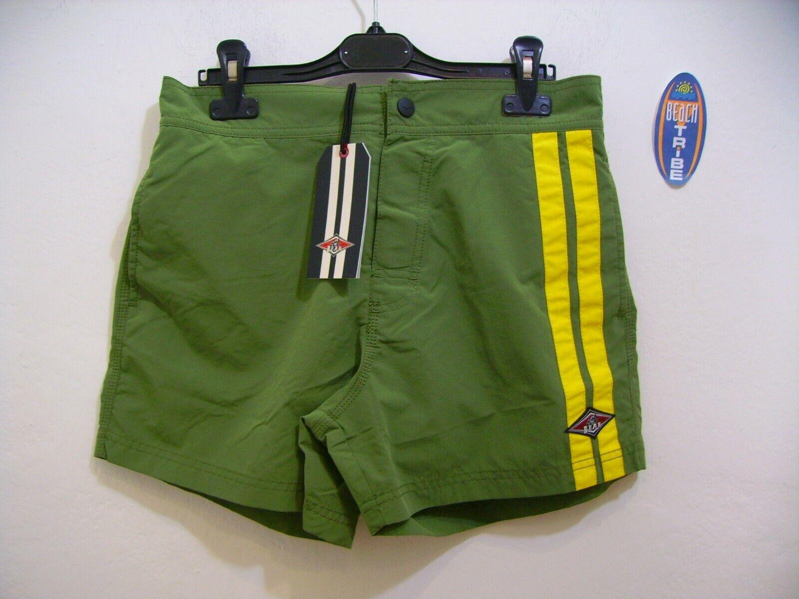 Bear Board Shorts Man 2760360424 Malibu Olivine Military Green Yellow